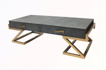 Maria shagreen coffee table