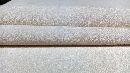 Daphoco International Joint Stock Company supplies stingray leather material (Faux shagreen) for furniture industry.