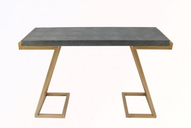 Maria shagreen console table